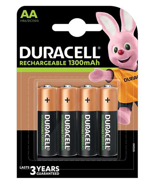 duracell oplaadbare batterijen