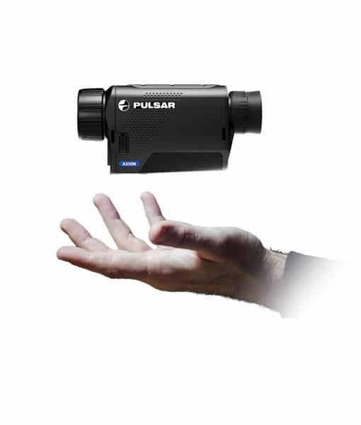 Pulsar-axion-warmtebeeldkijker